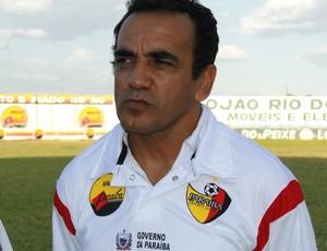 Edson Ferreira, técnico do Paraíba de Cajazeiras (Foto: Divulgação / Assessoria)