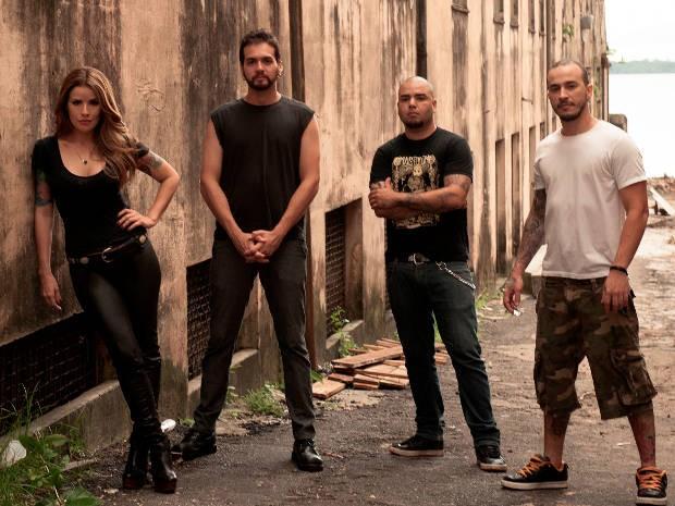ormação atual do Madame Saatan com Sammliz, Ed Guerreiro, Nugoli e Vince (Foto: Divulgação/ JMConduru) (Foto: Divulgação/ JMConduru)