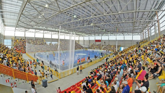Arena Sorocaba (Foto: Divulgação/ Magnus Futsal)
