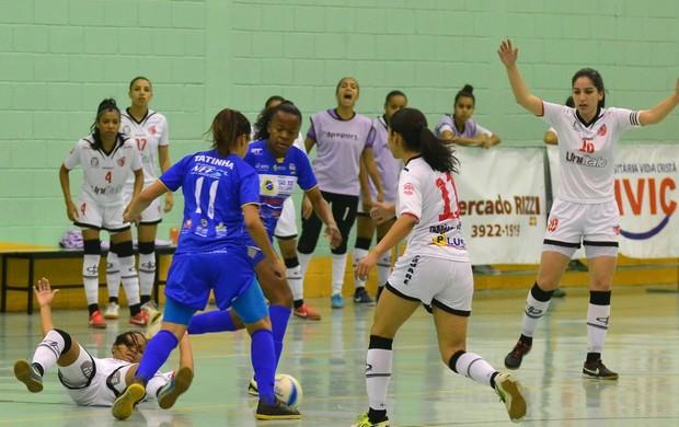 São José Futsal feminino Taboão (Foto: Tião Martins/ TM Fotos)