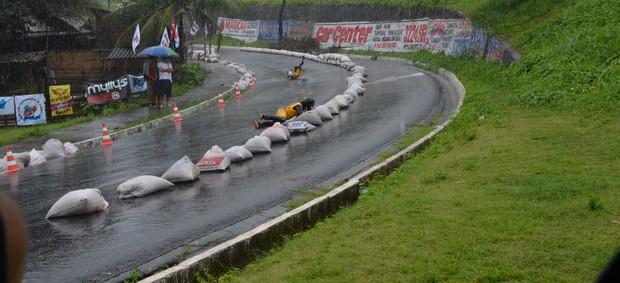Jampa Downhill de Skate, João Pessoa, Paraíba (Foto: Larissa Keren / globoesporte.com/pb)