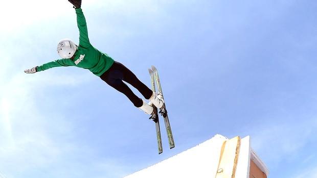 Lais Souza Ski Aerials (Foto: Mauro Horita)
