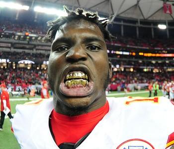 Tyreek Hill superou polêmicas extracampo e se tornou fundamenal aos Chiefs (Foto: Getty Images)