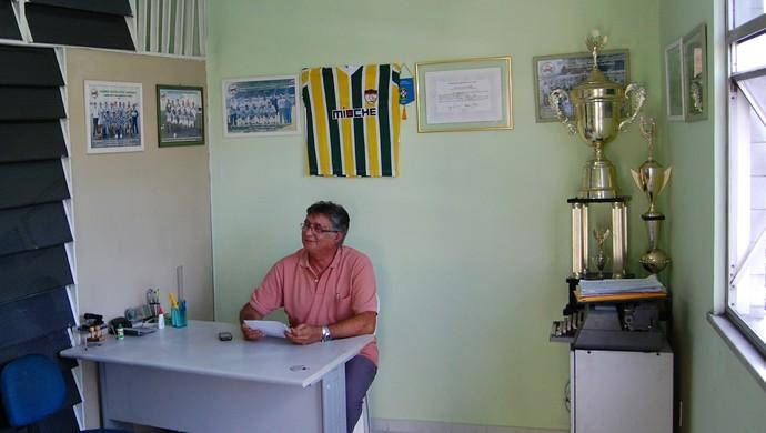 Sede do Serrano em Campina Grande (Foto: Silas Batista / GloboEsporte.com)