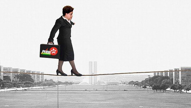 Equilibrismo (Foto: Arte: Antônio Lucena)