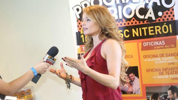 Rita Guedes dividiu suas experiências em um bate-papo com outros artistas dessa edição do Programão (Foto: Divulgação)
