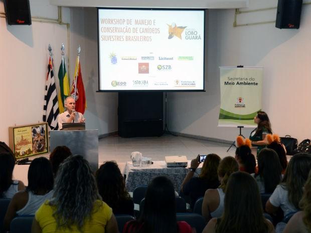 Atividade integra a programação de aniversário do 'Quinzinho de Barros' (Foto: Zaqueu Proença)