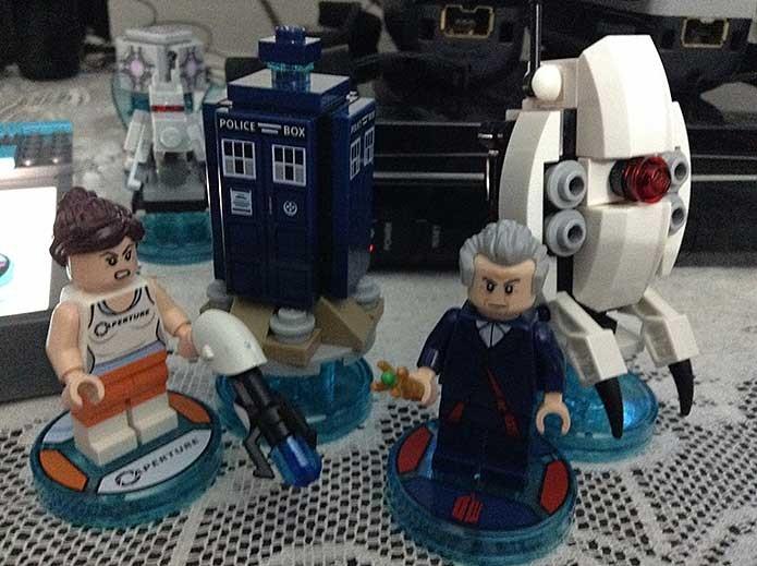 Personagens extras em Lego Dimensions (Foto: Felipe Vinha)