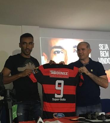Eduardo Flamengo-PI (Foto: Stephanie Pacheco)