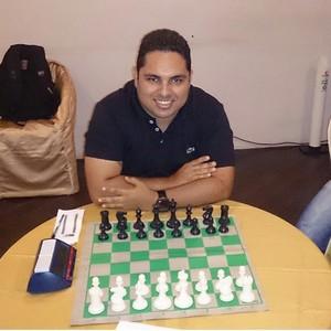 Amapaense Marcos Monteiro está na semifinal do Campeonato Brasileiro de Xadrez, no Pará (Foto: Reprodução/Facebook)