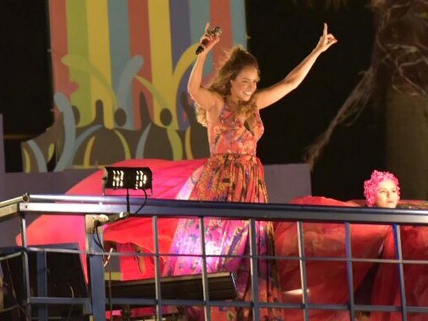 Daniela Mercury carnaval na Bahia (Foto: Elias Dantas/Ag Haack)