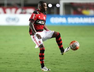 Chiquinho errou muito contra o Palestino (Foto: Gilvan de Souza/Flamengo)