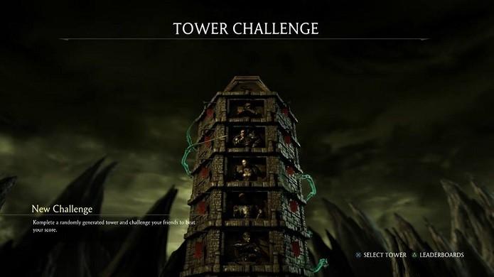 Desafios randômicos estão nestas torres (Foto: Reprodução/Thiago Barros)