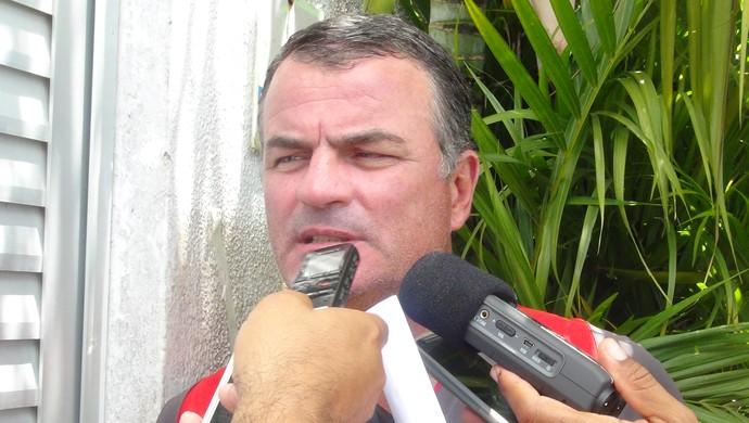 Mazola Júnior, técnico do CRB (Foto: Viviane Leão/GloboEsporte.com)
