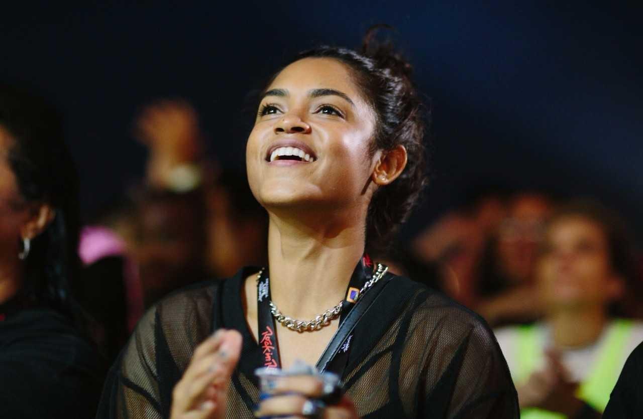 Lucy Alves tambm j tocou no Palco Sunset nessa edio do festival (Foto: Samuel Kobayashi / Multishow)