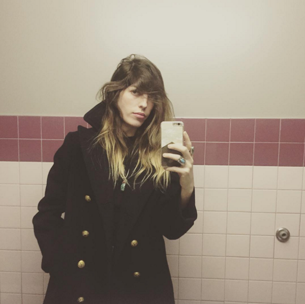 A modelo Lou Doillon (Foto: Instagram)