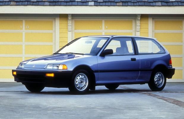 Honda Civic 1988 (Foto: Divulgação)