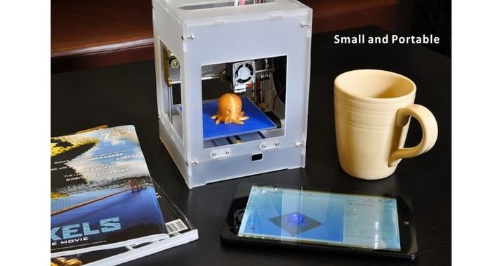 Impressora pode ser conectada com dispositivo móvel ou computador (Foto: Divulgação/TinyBoy)