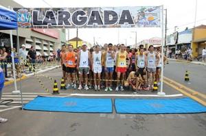 Corrida movimenta Parapuã (Foto: Divulgação)
