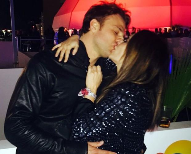 Fernanda postou foto romântica com Cássio durante viagem a Las Vegas (Foto: Arquivo Pessoal)
