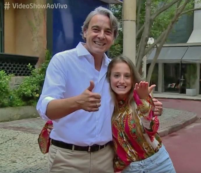 Alexandre Borges E Bruna Giphao Falam Da Amizade Surgida Durante
