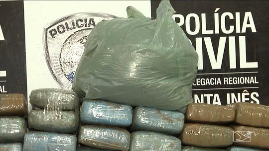 Polícia apreende cerca de 250 kg de maconha no Maranhão