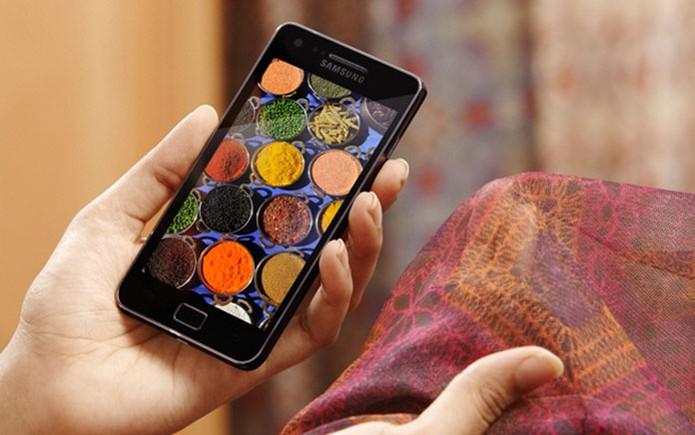 Samsung Galaxy S II vem com câmera traseira de 8 megapixels (Foto: Divulgação/Samsung)