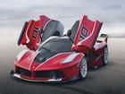 Ferrari revela novo modelo híbrido, o FXX K