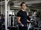 André Marques mostra treino que o deixou com apenas 11% de gordura