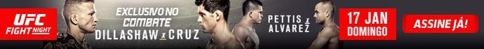 banner Combate UFC Dillashaw x Cruz (Foto: Combate)