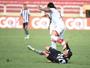 Victor Ramos comemora empate com o Botafogo e dedica gol para a avó