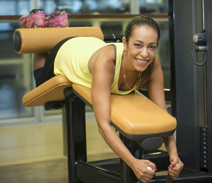 Samantha Schmütz revela que perdeu 10 quilos desde que casou (Foto: Raphael Dias / Gshow)