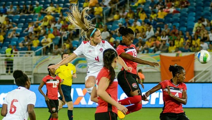 Canadá x Trinidad e Tobago Arena das Dunas (Foto: Vlademir Alexandre/AllSports)