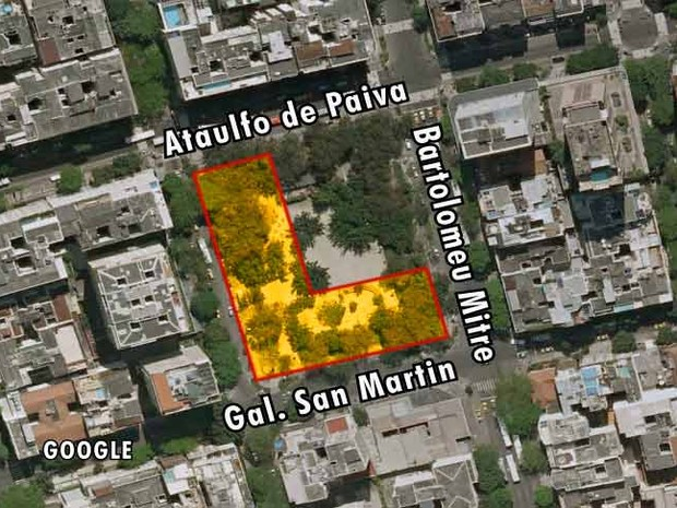 Mapa 2 Antero de Quental (Foto: Editoria de Arte)