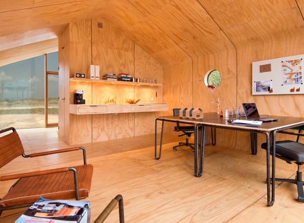 Casa_papelão_Wikkel_House (Foto: Divulgação/Wikkel House)