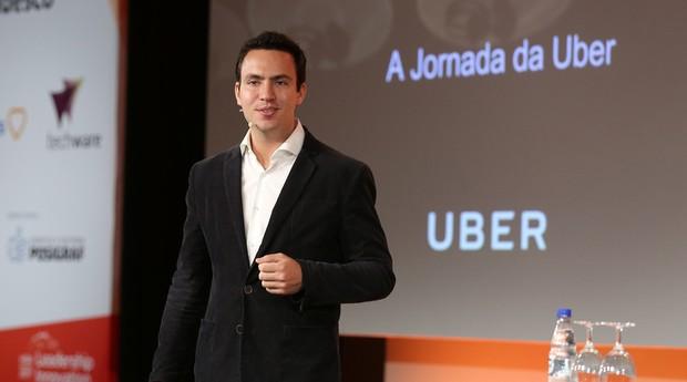 Guilherme Telles, diretor geral da Uber Brasil durante o HSM Summit 2017 em São Paulo (SP).jpg (Foto: Divulgação)