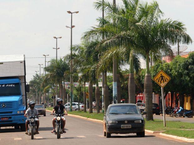 Cidade de Campo Novo do Parecis gerou 1.036 empregos este ano, figurando entre os 50 municípios do país que mais contrataram no período, segundo o Caged. (Foto: Edson Rodrigues / Secom-MT)