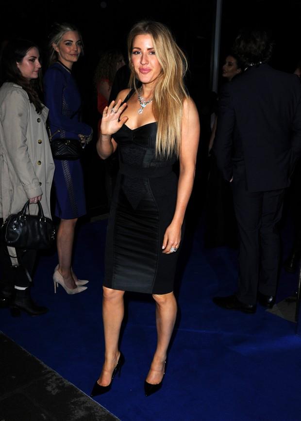 Ellie Goulding em festa em Londres, na Inglaterra (Foto: Eamonn M. McCormack/ Getty Images)