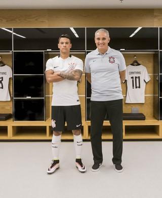 Corinthians camisa uniforme (Foto: Divulgação/Nike)