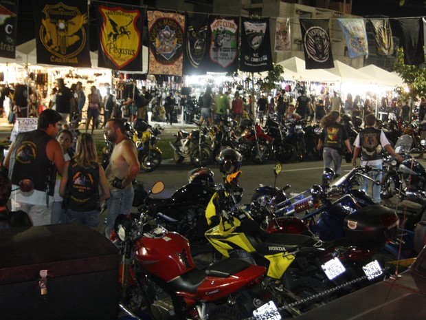 Encontro de Motociclistas em 2012 (Foto: Maurício Rocha/ Divulgação)