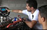 Tecnologia ajuda pilotos a baixar os tempos da Copa Brasil de Kart, no Conde