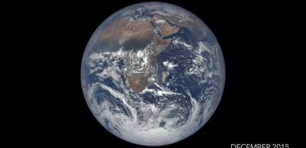 Planeta Terra pelas lentes de Epic (Foto: Divulgação)