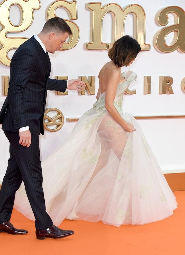 O ator Channing Tatum com a esposa, a atriz e dançarina Jenna Dewan (Foto: Getty Images)