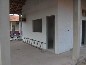 Escola Frei Othmar (Foto: Gustavo Campos/G1)