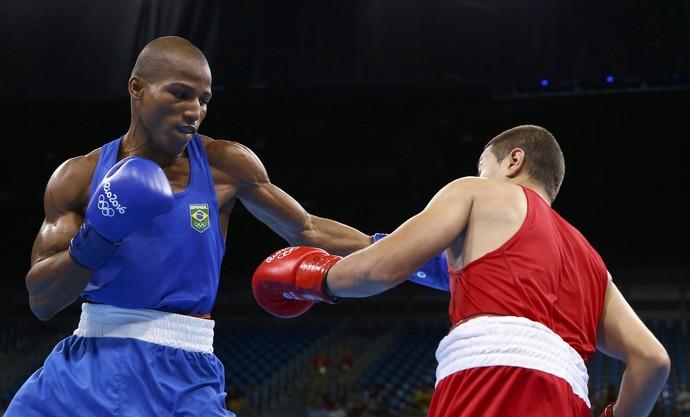 Robson Conceicao boxe olimpíada rio 2016 (Foto: REUTERS/Peter Cziborra)