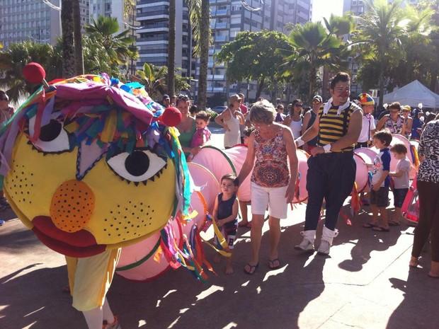 Semana Municipal do Brimcar teve atividades para crianças  (Foto: Foto: Márcia Calçada/Arquivo Pessoal)