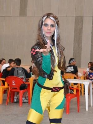 Vencedor da seletiva regional disputa torneio nacional de cosplay (Foto: André Teixeira/G1)