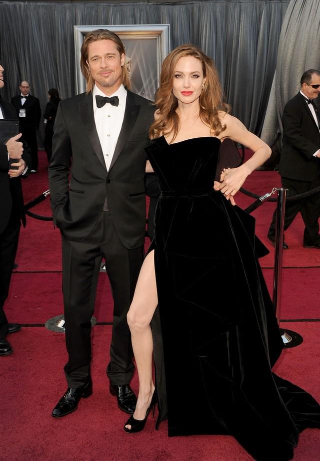 Brad Pitt e Angelina Jolie se divorciam após 12 anos juntos (Foto: Getty Images)