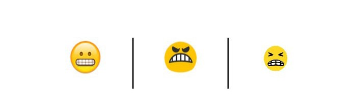 O emoji deveria representar alguém que está se esforçando muito (Foto: Reprodução/Unicode)