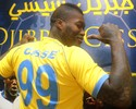 Cissé chega ao Al Gharafa e diz que seguiu conselho de Desailly